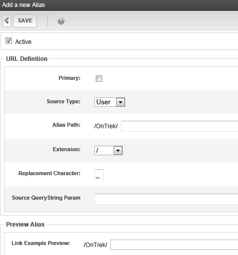 how to add alias using cpanel
