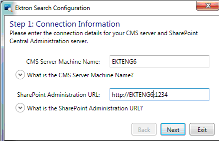 Managing Your Search Server
