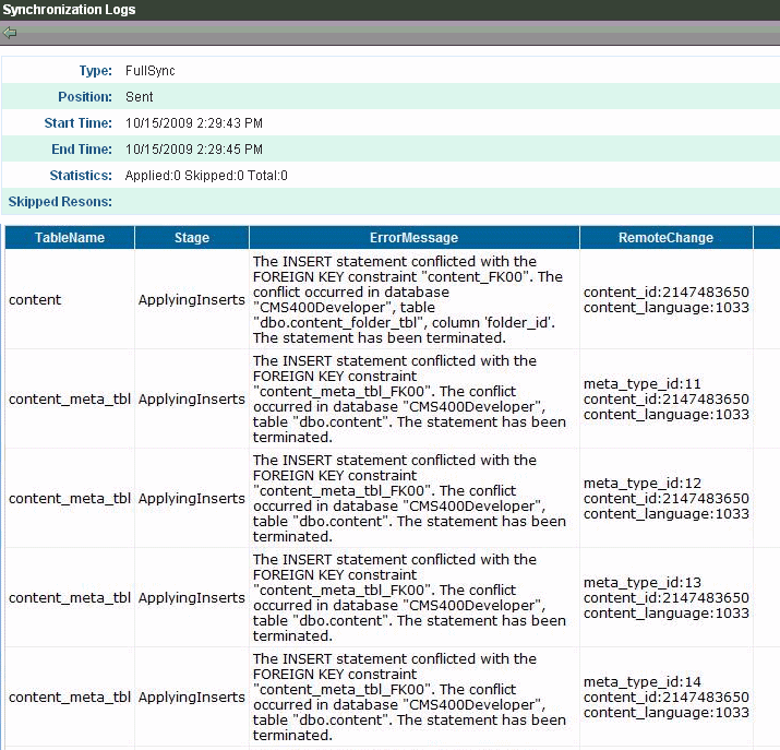 Synchronizing Servers Using eSync